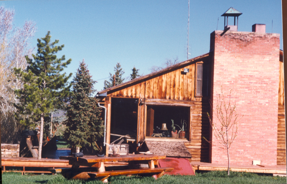 Owl Farm ranch house