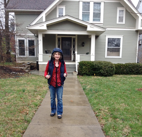 Margaret Harrell At Hunter Thompson's Boyhood Home
