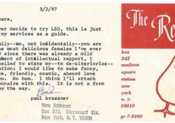 Hunter Thompson and Paul Krassner