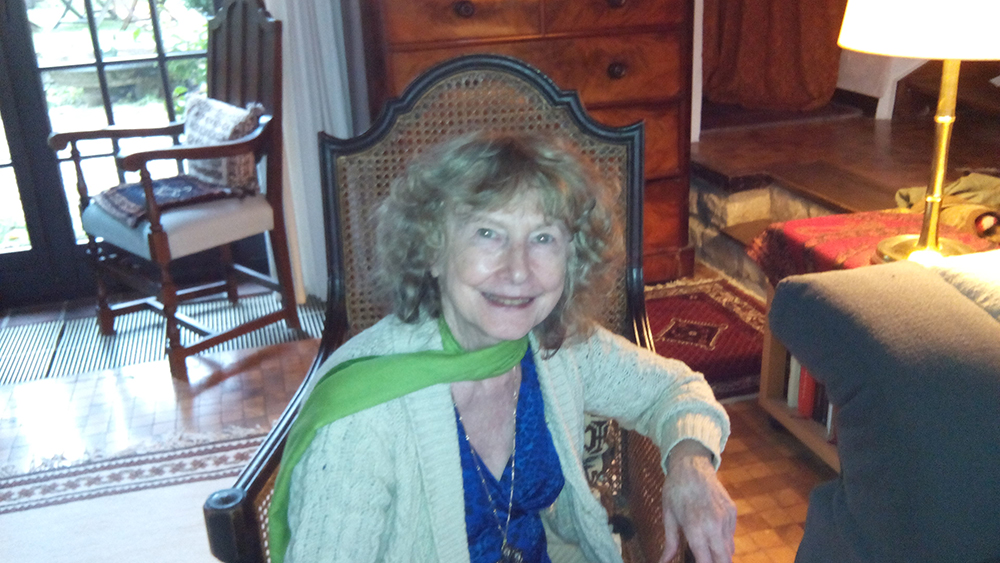 Margaret Harrell in Belgium 2015